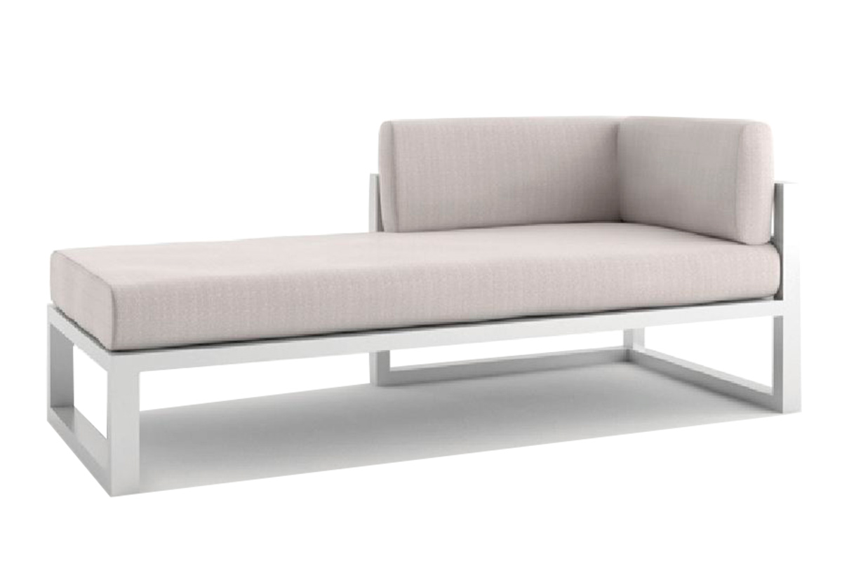 outdoor Colección New Blue Chaise Lounge